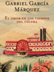 Capa do livro Elamor en los tiempos del cólera